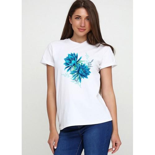 Футболка Malta 19Ж441-24-Р1 Blue Flower