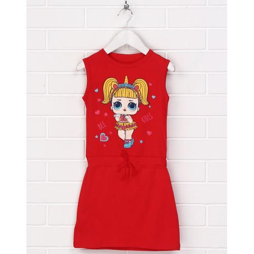 Платье Malta 19ДД399-24-Н красное
