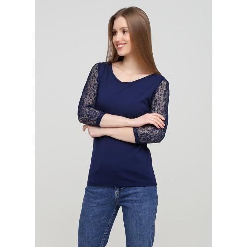 Блуза Malta Ж512-19 синяя